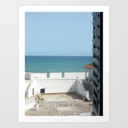 Oceanview Art Print