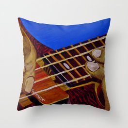 Walk The Alembic Throw Pillow