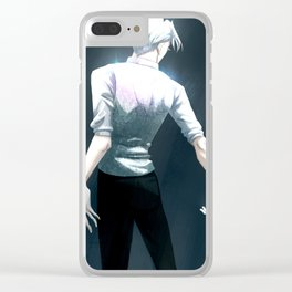 Victor's back Clear iPhone Case