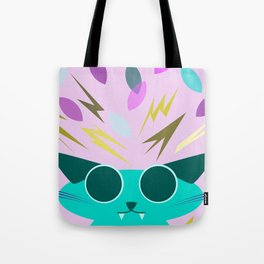 Chaotic Kitten Tote Bag
