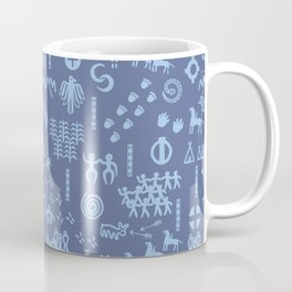 Peoples Story - Blue on Blue Coffee Mug