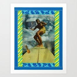 Hawaii Groove Oh Art Print