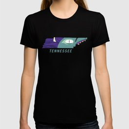 Tennessee Monster Map T-shirt