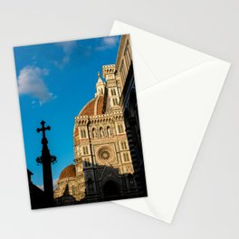 Shadows in Florence Stationery Cards