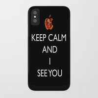 keep calm iPhone & iPod Cases featuring KEEP CALM  by Caio Trindade