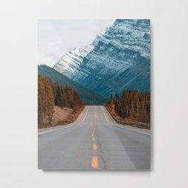 Roadtrip to Nature Metal Print