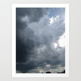 Cloud.2 Art Print