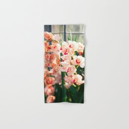 Orchid in the Sunlight  //  The Botanical Series Hand & Bath Towel