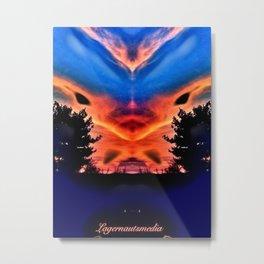 ALIEN 4 - GLOW Metal Print