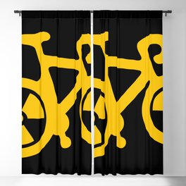 Radioactive Bicycle Blackout Curtain
