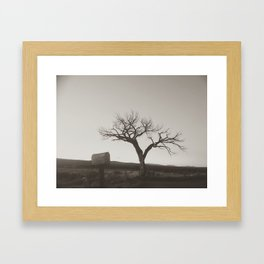 Wandering around in a past century Framed Art Print