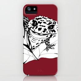 Cute Gecko iPhone Case