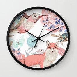 Vintage spring Wall Clock