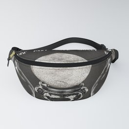 Gypsy Crystal Ball Reader Sign Fanny Pack