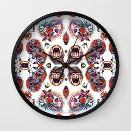 TATTOO FLASH no 6 Wall Clock