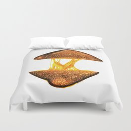 Grilled Cheese Duvet Cover