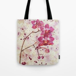 beauTEAful blooms: Orchids Tote Bag