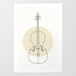 Cello II Art Print