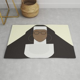 Sister Act, minimal Movie Poster, classic comedy film, funny, Whoopi Golberg, american cinema Rug