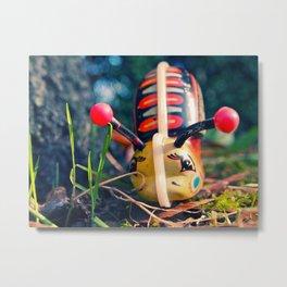 Mechanical snail Metal Print