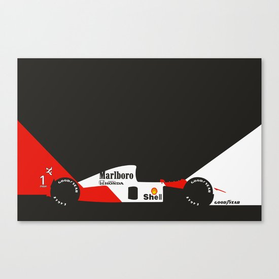 MP4/6 Canvas Print