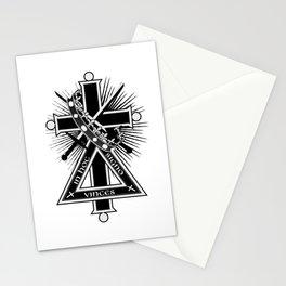 Masonic cross Stationery Cards