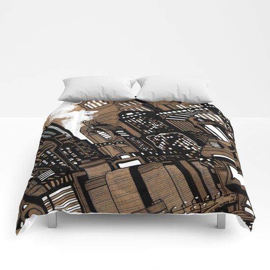 Cityscape Comforters