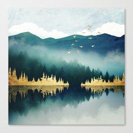 Mist Reflection Canvas Print