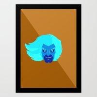 thundercats Art Prints featuring Lion - Thundercats by Camilo
