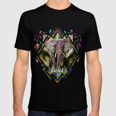 TEMBO 2X-LARGE Black Mens Fitted Tee