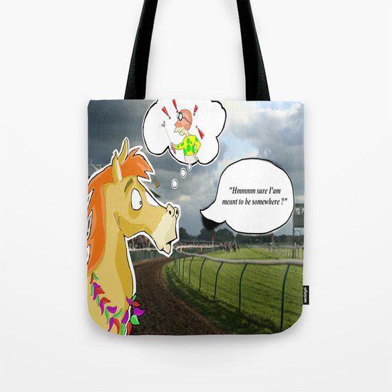 """"""" Race Day """" Tote Bag"""