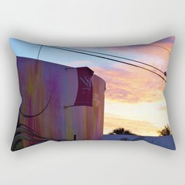 Wynwood Walls Sunset Rectangular Pillow