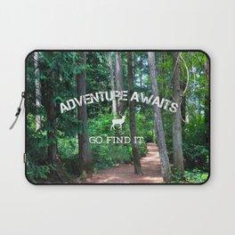 Adventure - go find it Laptop Sleeve