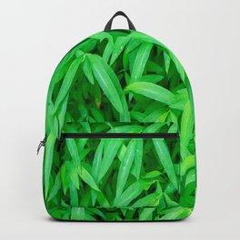 Sea of Green Leaves Backpack