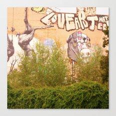 STREETART BERLIN, GERMANY by Jay Hops Canvas Print