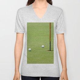 Golf Pin Unisex V-Neck