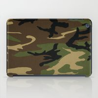 camo iPad Cases featuring Camo by gypsykissphotography