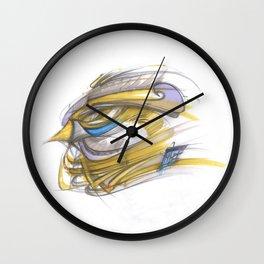 Wanderfalke Wall Clock