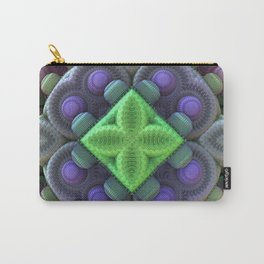 3D Fractal Abstract Thingy Carry-All Pouch