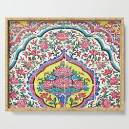 Beauty of tiles Serving Tray