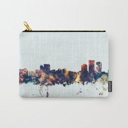 Anchorage Alaska Skyline Carry-All Pouch