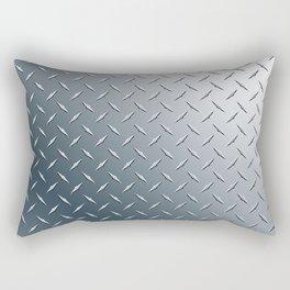 Diamond Plate Metal Pattern Rectangular Pillow