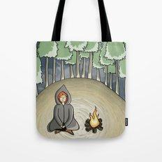 Campfire Girl Tote Bag