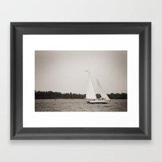 Woodwind II Framed Art Print