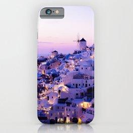 Santorini Night iPhone Case