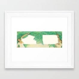 A la Víbora de la Mar Framed Art Print