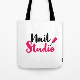 Nail Studio Tote Bag