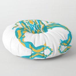 Sagra Beetle _ Psychedelic bug 3.2 _ Besouro Independente Floor Pillow
