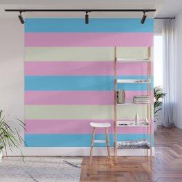 Transgender Pride Flag v2 Wall Mural