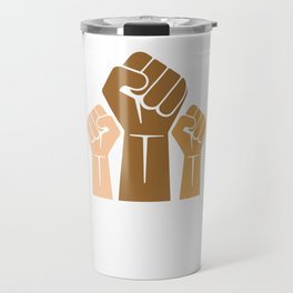 Black Power We Will Persist African American Pride Travel Mug